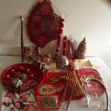 Gujarati Lagna Vidhi Package (Bride)