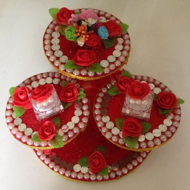 Engagement Rings Display Platter
