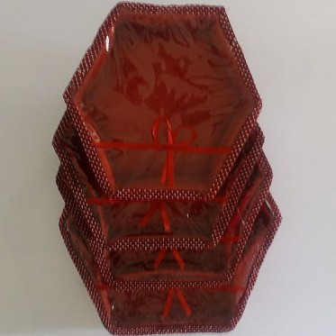 Set of Four Decorative Boxes