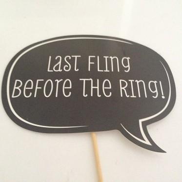 Last Fling before Ring!