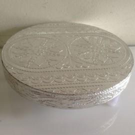 Silver Round Chaurang