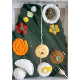 Prasad Thali of Wool