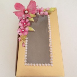Engagement Sweets Box Decorated by Sosapeso Art