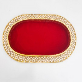 Decorated Oval Tray K
