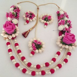 Aertificial Flowers Jewellery